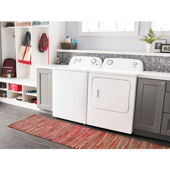 Model: NTW4516FW | Amana 3.5 cu. ft. Top-Load Washer with Dual Action Agitator