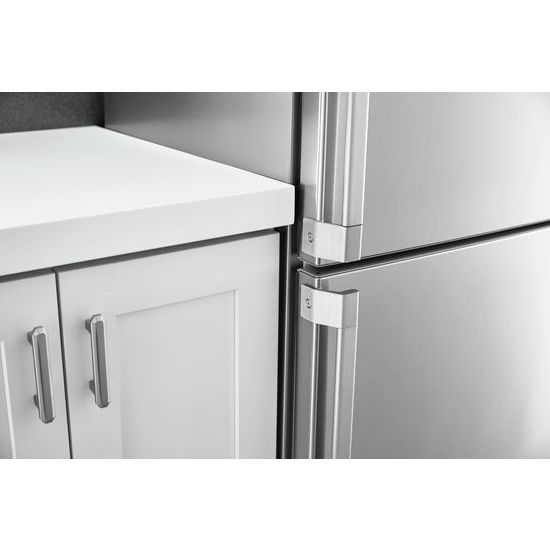 Model: URB551WNGZ | Unbranded Bottom-Mount Refrigerator 24-inches wide