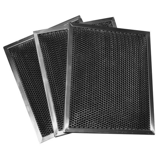 3 Pack Charcoal Hood Filters