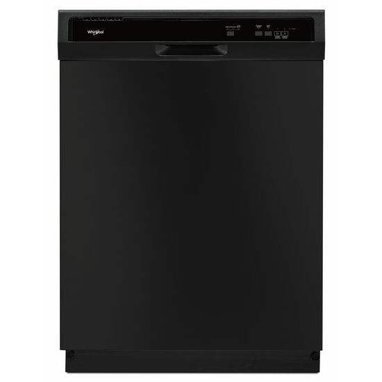 Model: WDF130PAHB | Whirlpool Heavy-Duty Dishwasher with 1-Hour Wash Cycle