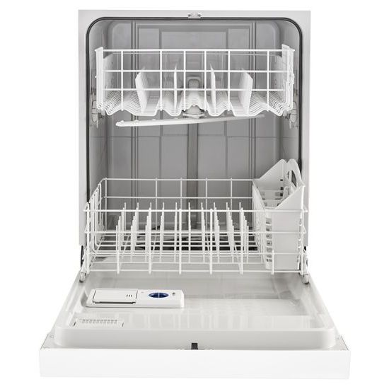 Model: WDF330PAHW | Whirlpool Heavy-Duty Dishwasher with 1-Hour Wash Cycle