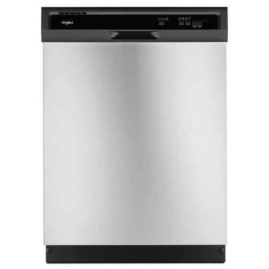 Model: WDF331PAHS | Whirlpool Heavy-Duty Dishwasher with 1-Hour Wash Cycle