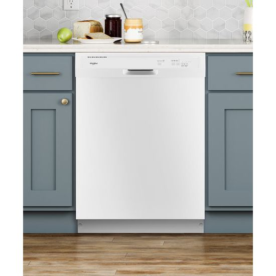 Model: WDF331PAHW | Whirlpool Heavy-Duty Dishwasher with 1-Hour Wash Cycle