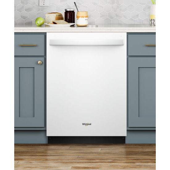 Model: WDT730PAHW | Whirlpool Dishwasher with Fan Dry
