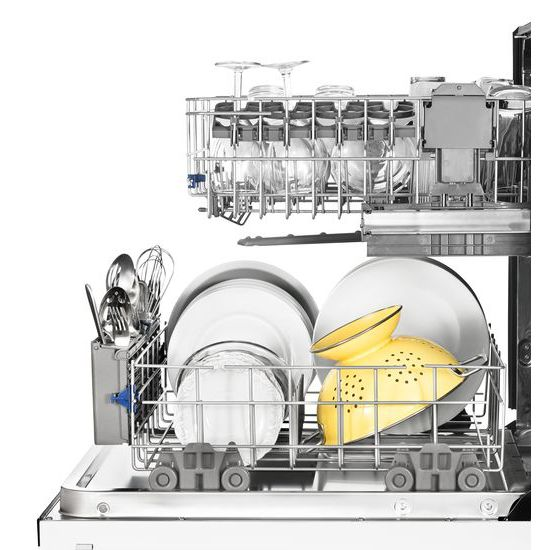 Model: WDT750SAHW | Whirlpool Stainless Steel Tub Dishwasher with TotalCoverage Spray Arm