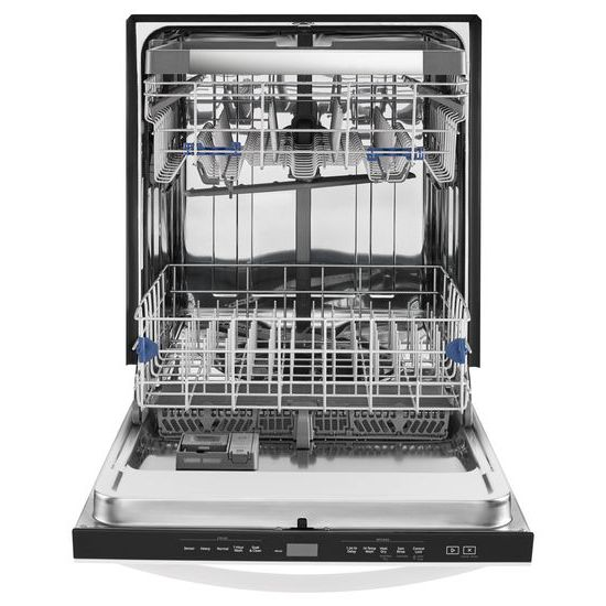 Model: WDT970SAHW | Whirlpool Stainless Steel Tub Dishwasher with Third Level Rack