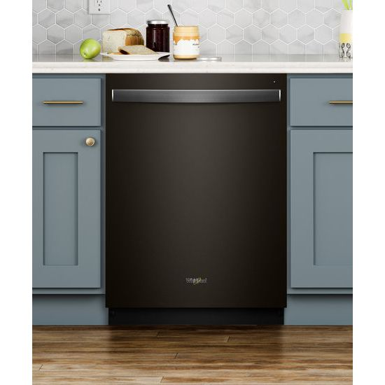 Model: WDT975SAHV | Whirlpool Smart Dishwasher with Stainless Steel Tub