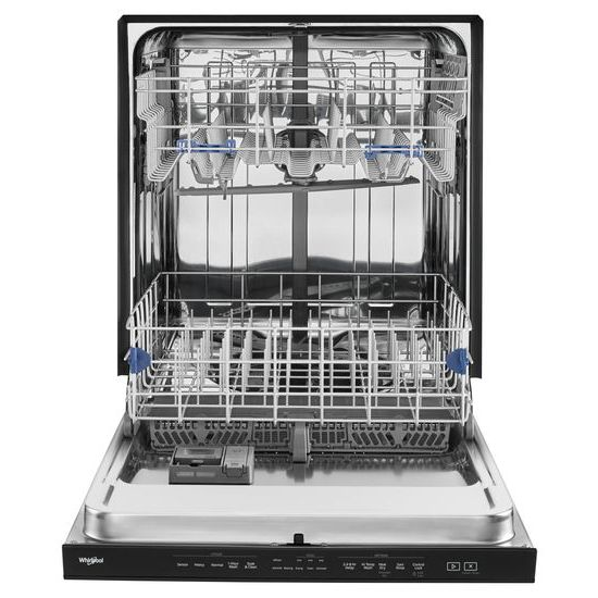 Model: WDTA50SAHB | Stainless Steel Tub Pocket Handle Dishwasher with TotalCoverage Spray Arm