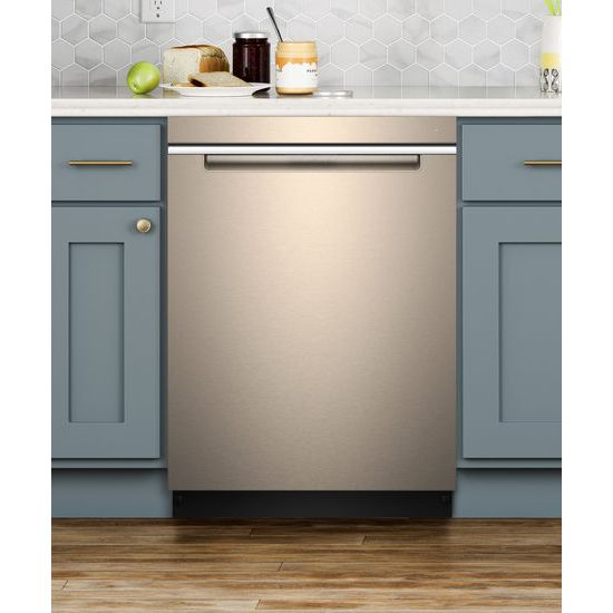 Model: WDTA50SAHN | Whirlpool Stainless Steel Tub Pocket Handle Dishwasher with TotalCoverage Spray Arm