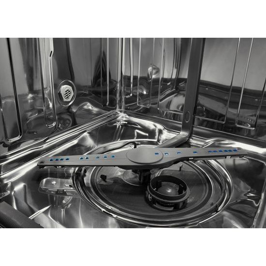 Model: WDTA50SAHW | Whirlpool Stainless Steel Tub Pocket Handle Dishwasher with TotalCoverage Spray Arm