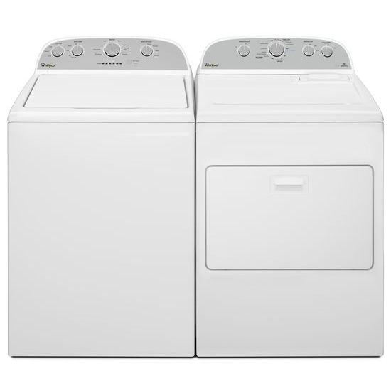 Model: WED49STBW | 7.0 cu.ft Top Load Electric Dryer with AccuDry™