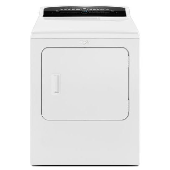 Whirlpool 7.0 cu.ft Top Load HE Electric Dryer with AccuDry™, Intuitive Touch Controls
