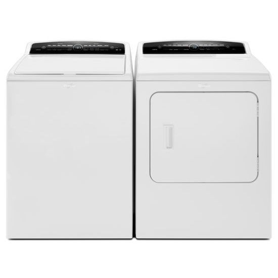 Model: WED7000DW | 7.0 cu.ft Top Load HE Electric Dryer with AccuDry™, Intuitive Touch Controls