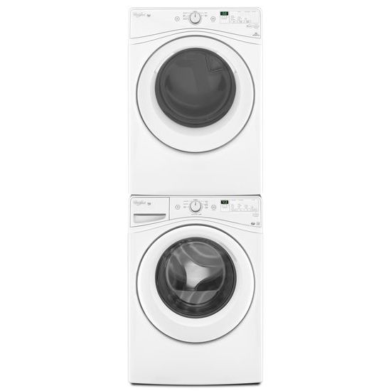 Model: WED7590FW | Whirlpool 7.4 cu.ft Front Load Electric Dryer with Advanced Moisture Sensing , 6 cycles
