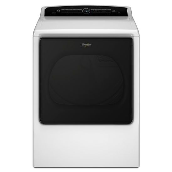 Whirlpool 8.8 cu.ft Top Load HE Electric Dryer with Advanced Moisture Sensing, Intuitive Touch Controls