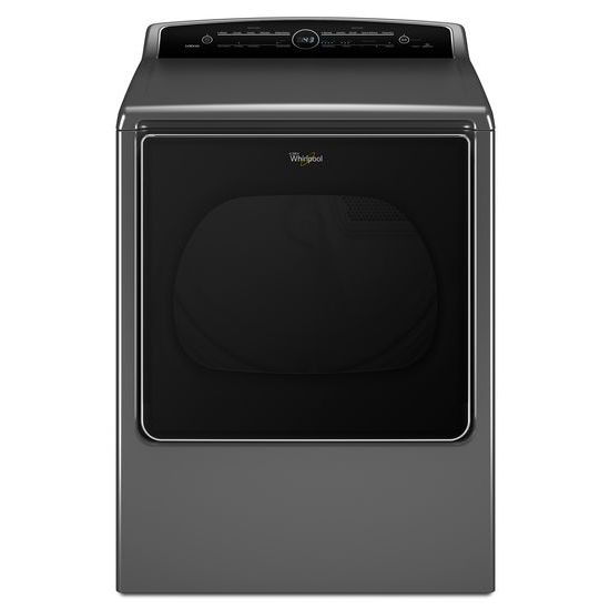 Whirlpool 8.8 cu.ft Top Load HE Electric Dryer with Intuitive Touch Controls, Steam Refresh