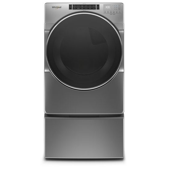 Model: WED8620HC | Whirlpool 7.4 cu. ft. Front Load Electric Dryer with Steam Cycles