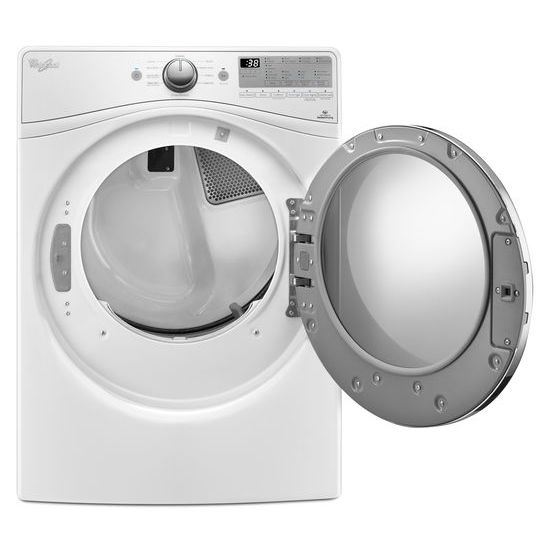 Model: WED92HEFW | Whirlpool 7.4 cu.ft Front Load Electric Dryer with Advanced Moisture Sensing, EcoBoost™