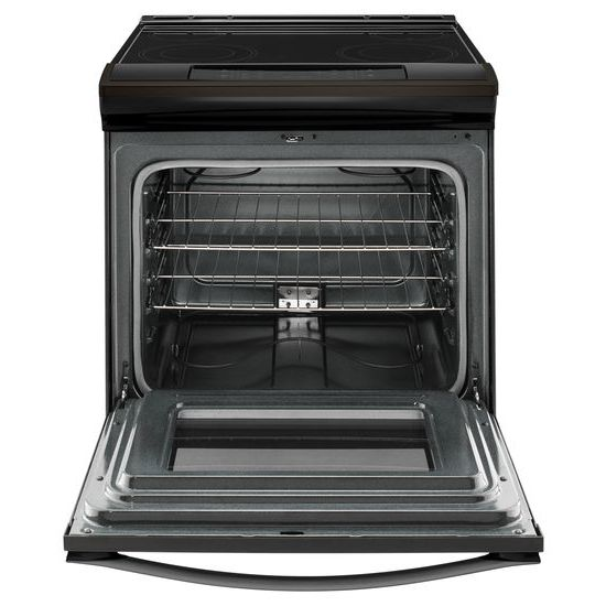 Model: WEE510S0FV | Whirlpool 4.8 cu. ft. Guided Electric Front Control Range With The Easy-Wipe Ceramic Glass Cooktop