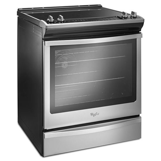 Model: WEE745H0FS | Whirlpool 6.4 Cu. Ft. Slide-In Electric Range with True Convection