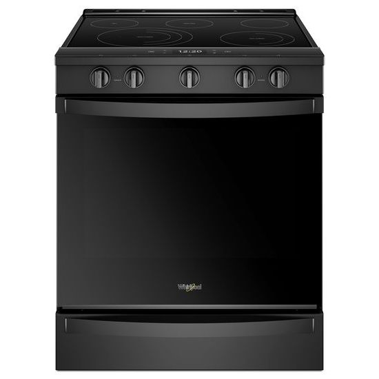 Model: WEE750H0HB | Whirlpool 6.4 cu. ft. Smart Slide-in Electric Range with Scan-to-Cook Technology