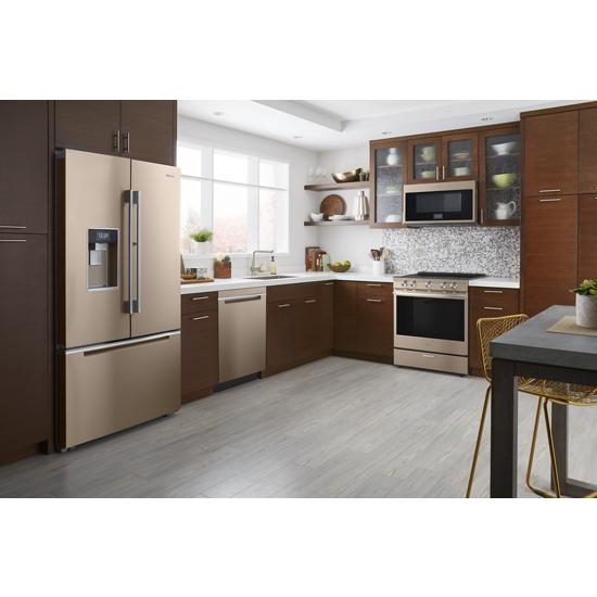 Model: WEEA25H0HN | Whirlpool 6.4 cu. ft. Smart Slide-in Electric Range with Scan-to-Cook Technology