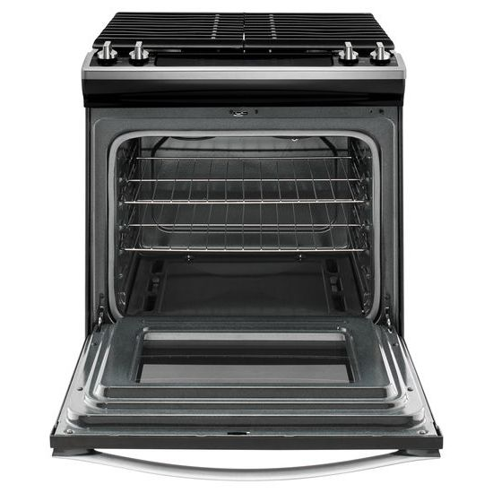 Model: WEG515S0FS | Whirlpool 5.0 cu. ft. Front Control Gas Range with Cast-Iron Grates