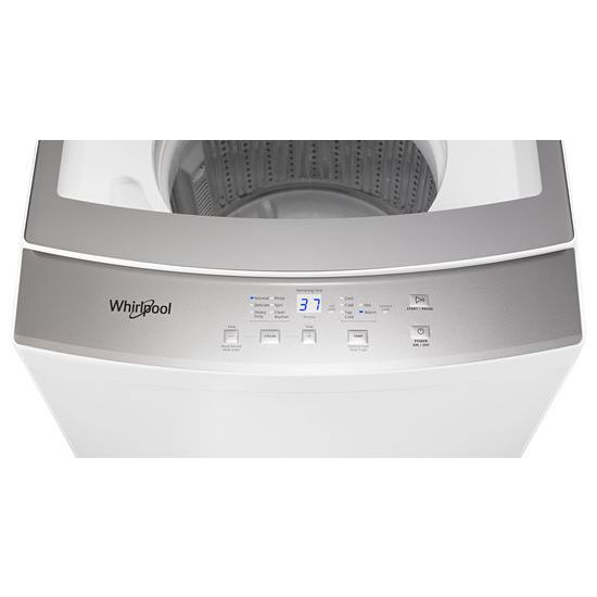 Model: WET4124HW | Whirlpool 1.6 cu.ft, 120V/20A Electric Stacked Laundry Center with 6 Wash cycles and Wrinkle Shield™