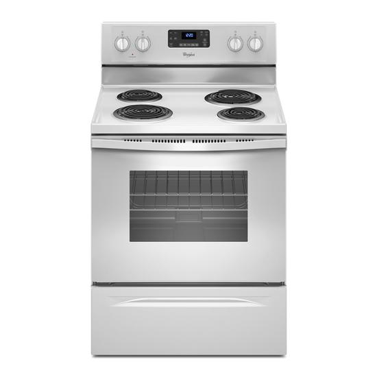 Whirlpool 4.8 Cu. Ft. Freestanding Counter Depth Electric Range