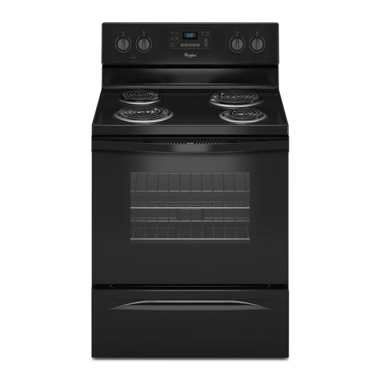 Whirlpool 4.8 Cu. Ft. Freestanding Electric Range with AccuBake® System