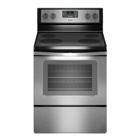 Whirlpool 4.8 Cu. Ft. Freestanding Electric Range with FlexHeat™ Dual Radiant Element