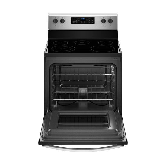 Model: WFE505W0HS | Whirlpool 5.3 cu. ft. Freestanding Electric Range with 5 Elements