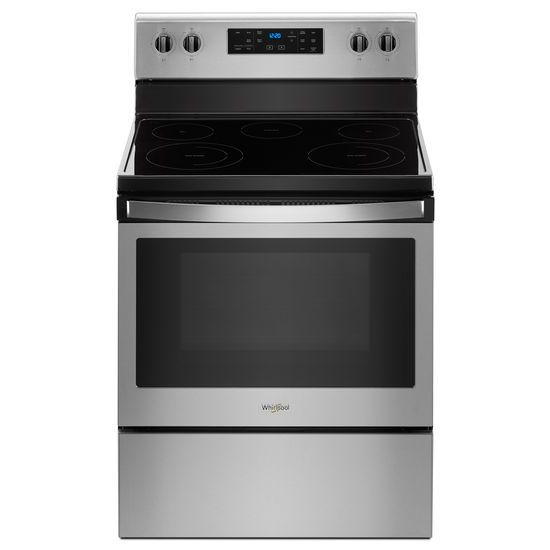 Whirlpool 5.3 cu. ft. Freestanding Electric Range with 5 Elements