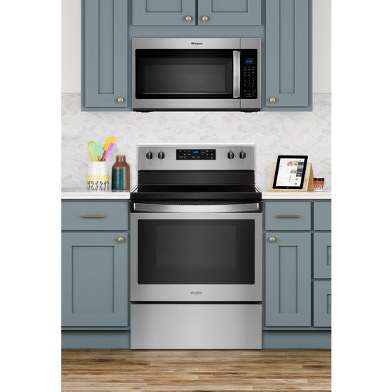 Model: WFE505W0HZ | 5.3 cu. ft. Freestanding Electric Range with 5 Elements