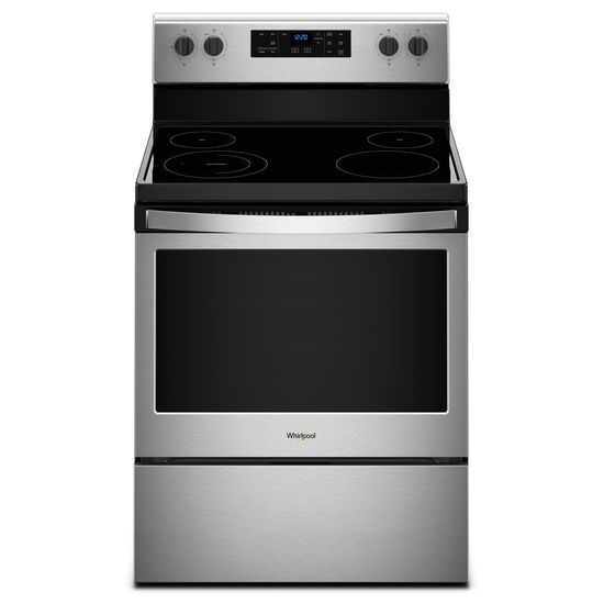 Model: WFE510S0HS | 5.3 cu. ft. Freestanding Electric Range with Adjustable Self-Cleaning