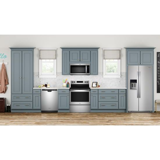 Model: WFE510S0HS | Whirlpool 5.3 cu. ft. Freestanding Electric Range with Adjustable Self-Cleaning