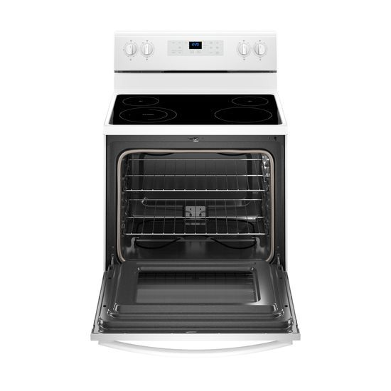 Model: WFE510S0HW | Whirlpool 5.3 cu. ft. Freestanding Electric Range with Adjustable Self-Cleaning