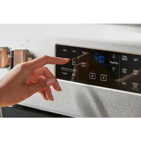 Model: WFE525S0HS | Whirlpool 5.3 cu. ft. Freestanding Electric Range with Frozen Bake™ Technology