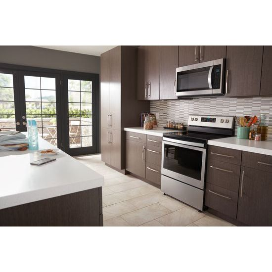 Model: WFE525S0HZ | Whirlpool 5.3 cu. ft. Freestanding Electric Range with Frozen Bake™ Technology