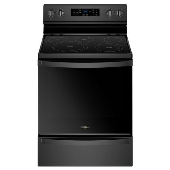 Model: WFE775H0HB | Whirlpool 6.4 cu. ft. Freestanding Electric Range with Frozen Bake™ Technology