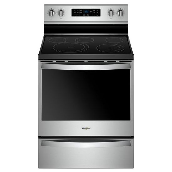 Whirlpool 6.4 cu. ft. Freestanding Electric Range with Frozen Bake™ Technology