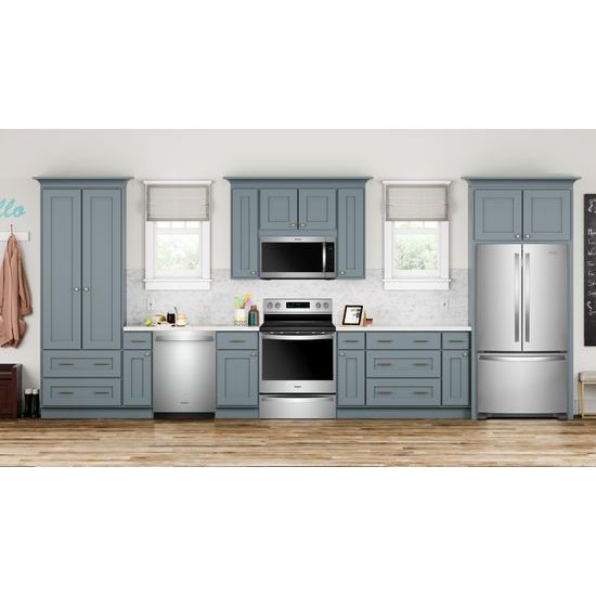 Model: WFE775H0HZ | Whirlpool 6.4 cu. ft. Freestanding Electric Range with Frozen Bake™ Technology