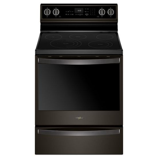 Whirlpool 6.4 cu. ft. Smart Freestanding Electric Range with Frozen Bake™ Technology