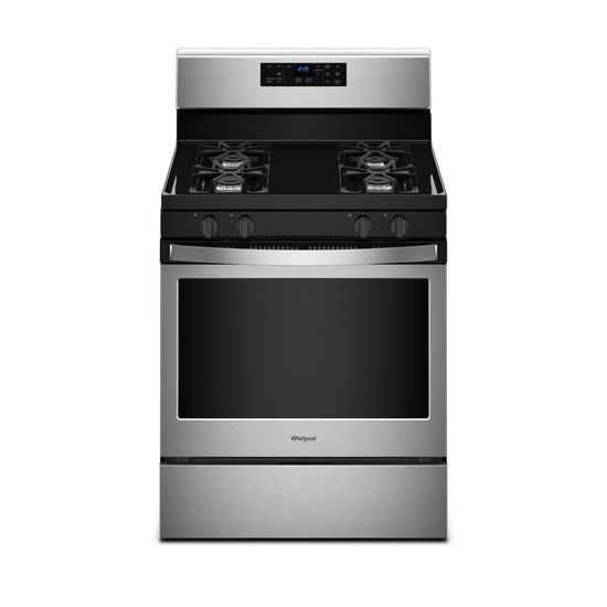 Whirlpool 5.0 cu. ft. Freestanding Gas Range with Adjustable Self-Cleaning