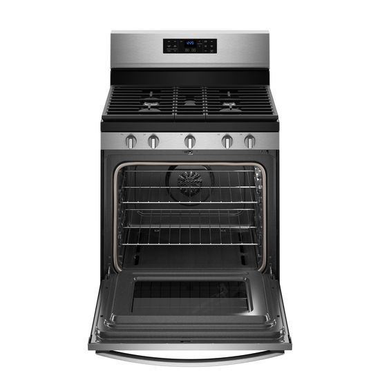 Model: WFG550S0HZ   Whirlpool 5.0 cu. ft. Whirlpool® gas convection oven with Frozen Bake™ technology