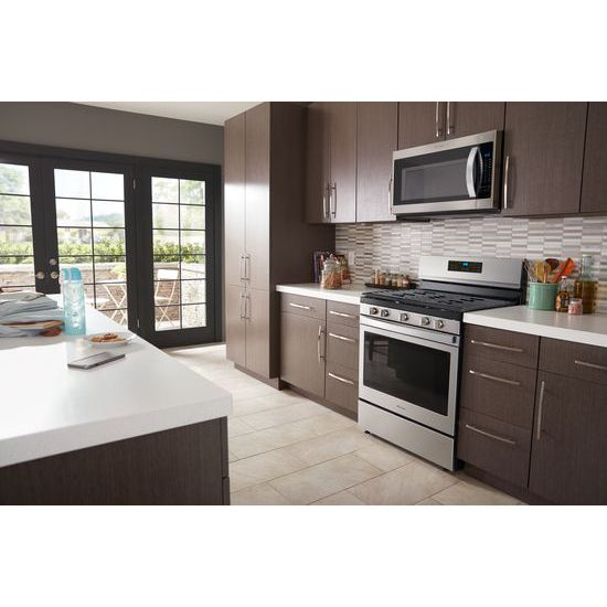 Model: WFG550S0HZ | Whirlpool 5.0 cu. ft. Whirlpool® gas convection oven with Frozen Bake™ technology