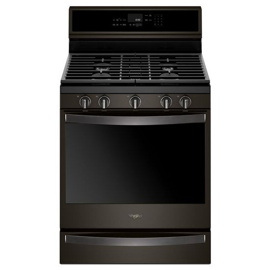 Model: WFG975H0HV | Whirlpool 5.8 cu. ft. Smart Freestanding Gas Range with EZ-2-Lift™ Grates