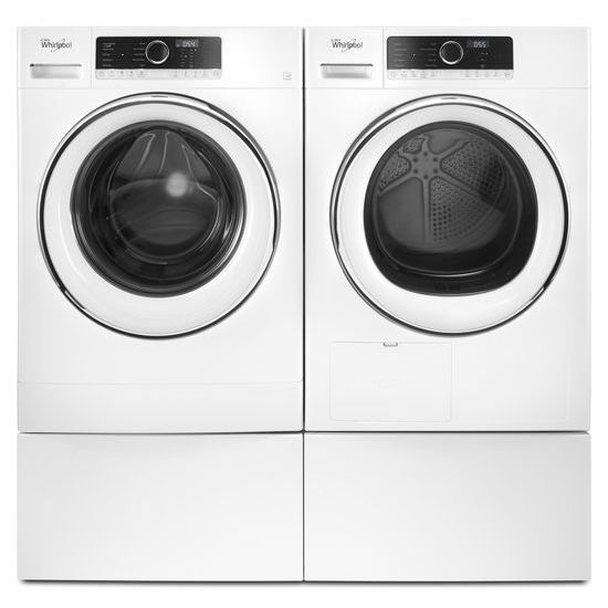 "Model: WFP24GW | Whirlpool 12"" Pedestal for Front Load Washer and Dryer"