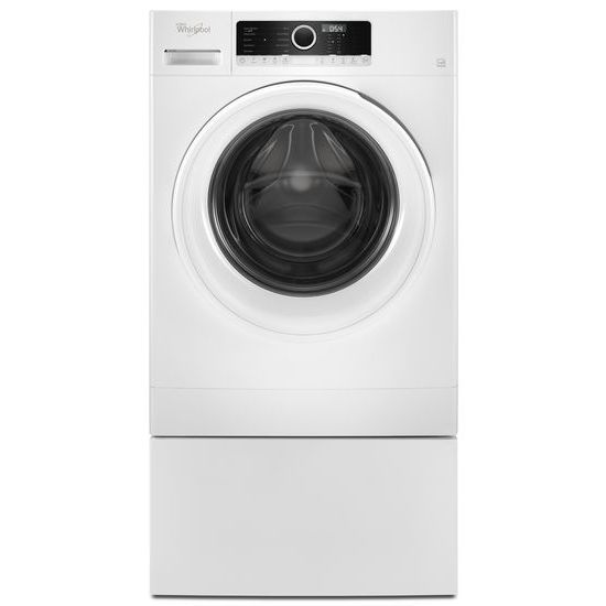 "Model: WFW3090JW | Whirlpool 1.9 cu. ft. 24"" Compact Washer with Detergent Dosing Aid option"