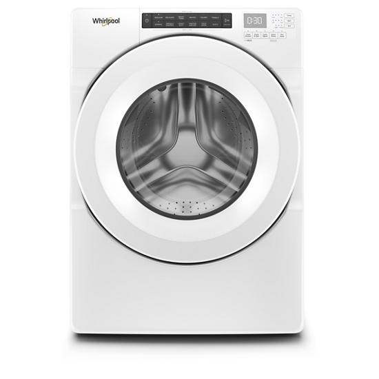 Whirlpool 4.3 cu. ft. Closet-Depth Front Load Washer with Intuitive Controls